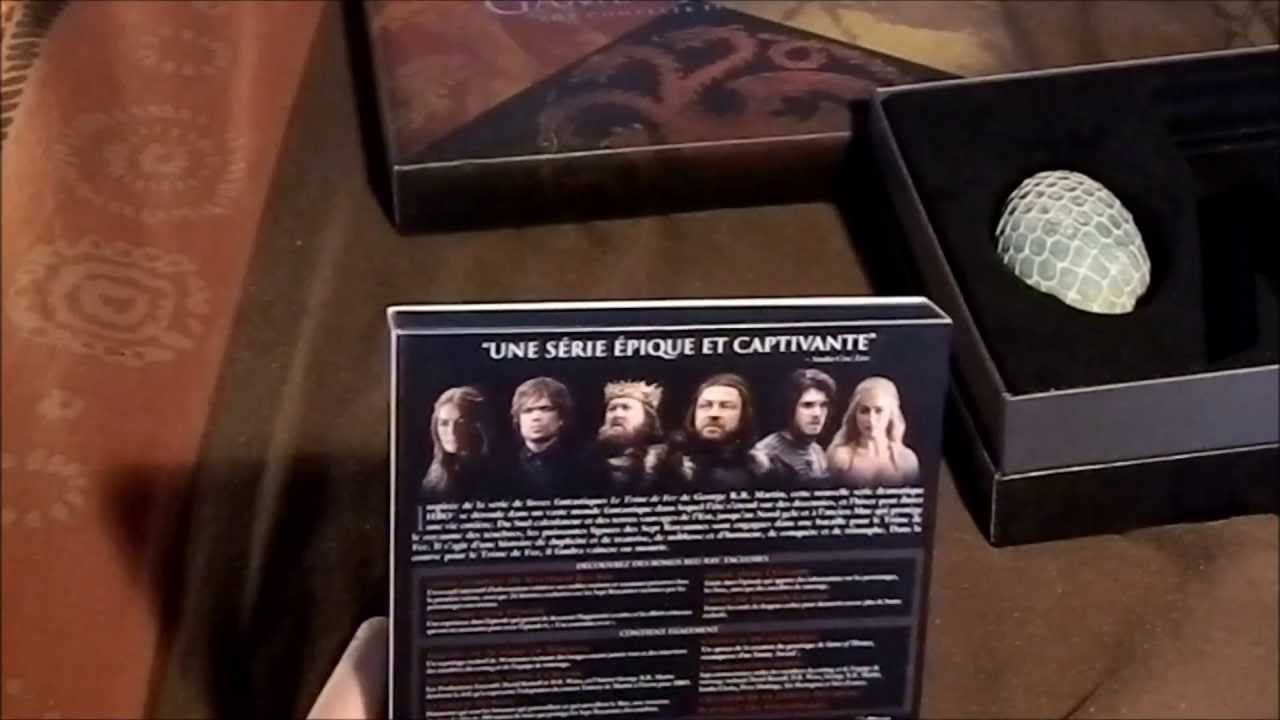 Coffret Blu Ray Game of Thrones Game of Thrones Coffret