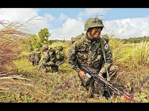 Republic of Korea ROK Marines involved in Thailand civil activity