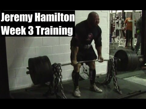 JEREMY HAMILTON: Week 3 Powerlifting Training 16.12.13 to 22.12.13 Image 1