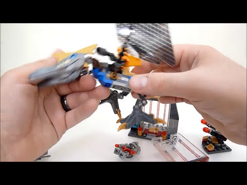 Rob A Reviews Kre-o Transformers Age of Extinction Cell Block Breakout