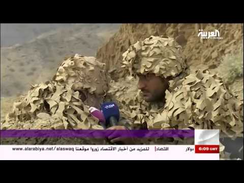 فيديو: قناصي القوات السعودية في مواجهة مليشيات الحوثي