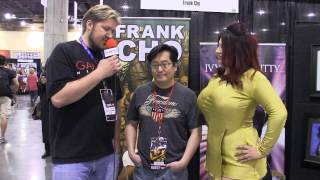 Ivy Doomkitty & Frank Cho at Phoenix ComicCon 2013
