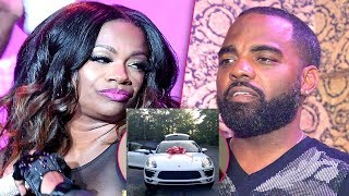 Kandi Burruss & Todd Allegedly Have Drama After Buying Her Daughter A $100,000 SUV.