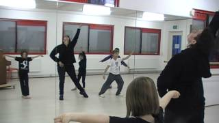 The Reindeer Rap Flashmob Dance Instructional Video: 4 of 4