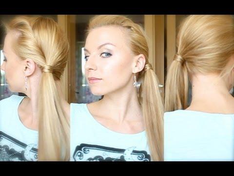 Видео как делать красивые причёски
