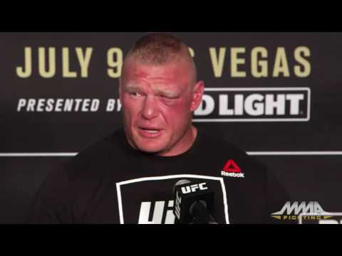 UFC 200: Brock Lesnar Post-Fight Press Conference
