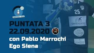 HandballTalk - Puntata 3: con Pablo Marrochi
