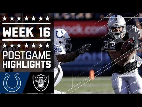 Colts Vs Raiders Nfl Week 16 Game Highlights
