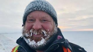 Man finishes 21,000-km hike across Trans Canada Trail in Tuktoyaktuk