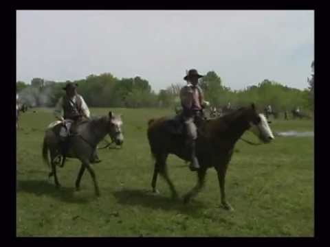 Civil War Battle of Carthage Missouri Re-enactment Documentary