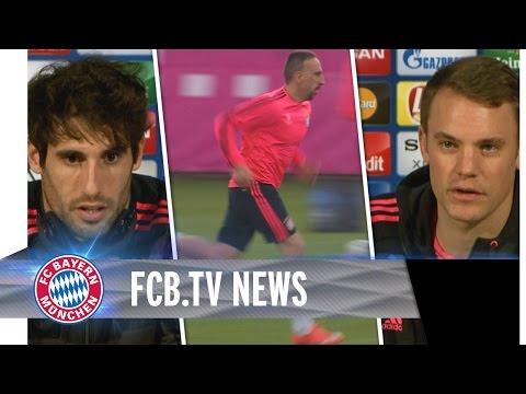 FCB bereit, Ribéry fit - der Tag vor dem Atlético-Rückspiel