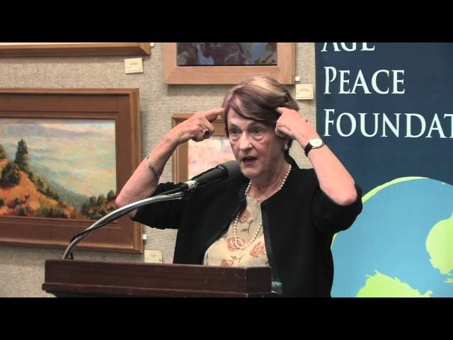 Dr. Helen Caldicott: The Medical Implications of Fukushima, Nuclear Power and Nuclear Proliferation