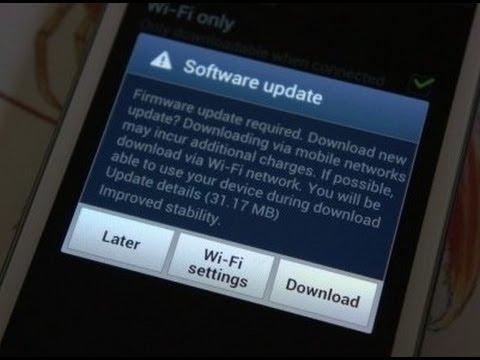 تعلم كيفية تحديث جهازك الاندرويد -How to check for update in Android