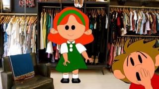 Tenemos una tia (La tía Mónica) - Cantajuegos - Guillermo Santis - ChispiKids