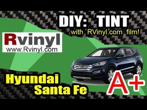 DIY TINT using RVinyl Film