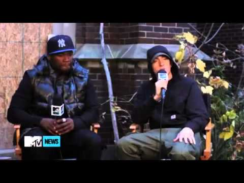 Eminem &amp; 50 Cent 2013 Interview !!