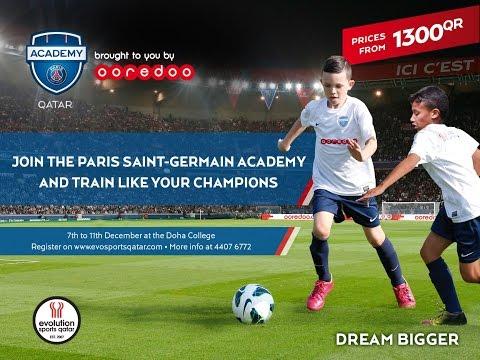PSG ACADEMY Doha Video