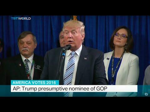 AP: Trump presumptive nominee of GOP, Kilmeny Duchardt reports