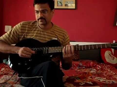 Hame Aur Jeene Ki Chahat Na Hoti on Guitar