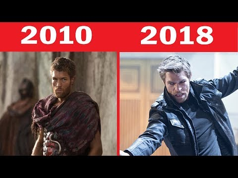 Spartacus Cast Then and Now 2010-2018