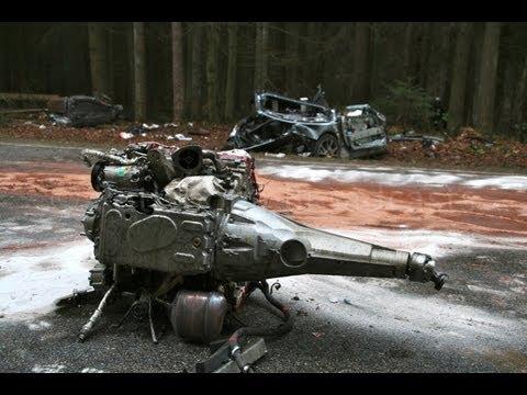 Heftig: Ferrari-Fahrer überlebt Horror Crash - 30.03.2013