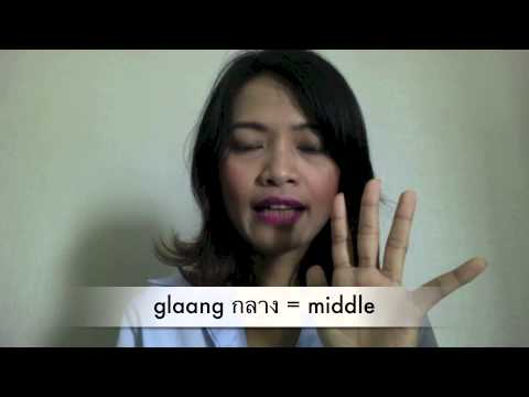 80- Learn Thai Language with MTL School in Bangkok : Finger in Thai with Kroo Nun