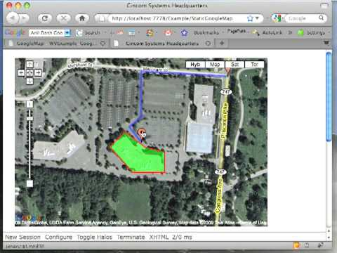 Web Velocity Example: Google Maps Integration