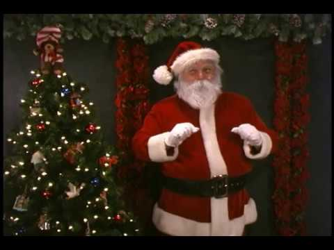 Santa Claus Singing Jingle Bells, His Favorite Christmas Song