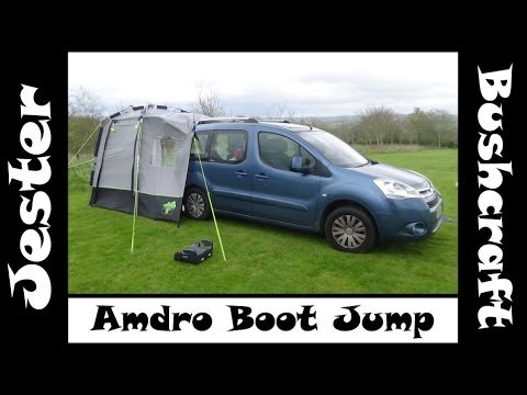 Amdro Boot Jump MPV Camper - First Camp Review