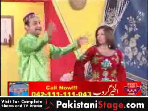 Pakistani Stage Drama - Dil Da Bazar (part 1) 01 Of 11 video
