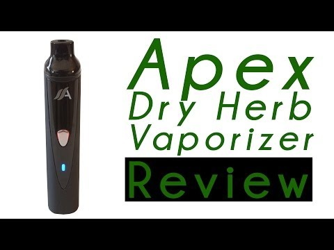Apex Dry Herb Vaporizer Pen Reviewed for Marijuana Use