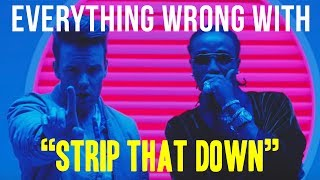 Everything Wrong With Liam Payne - quotStrip That Down ft Quavoquot