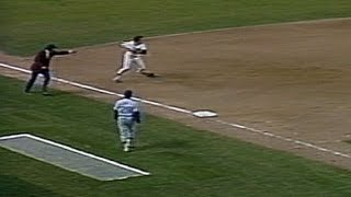1978 WS Gm3: Nettles saves two runs with a great play