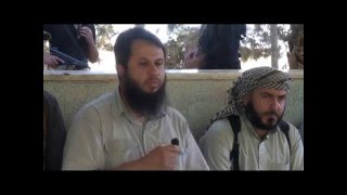 أحرار الشام | فكر الأحرار على لسان مؤسسها  الشيخ أبو عبد الله  الحموي