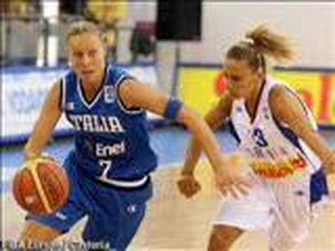 Eurobasket 2007 Interview with Kathrin Ress & Francesca Zara Video