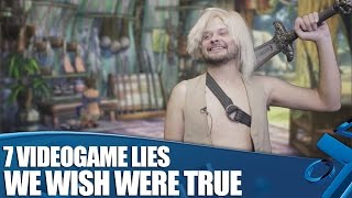 7 Videogame Lies We Wish Were True