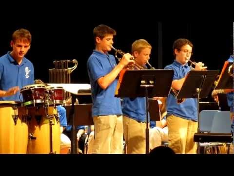 Springfield Township Middle School Jazz Spartans - Just a Closer Walk With Thee