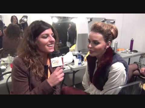 Mia Sposa 2013 – Serata finale con Nina Moric – L'intervista di Giomagazine.it