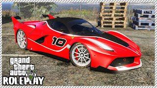 GTA 5 Roleplay - 'RARE' $3,000,000 Ferrari Supercar   RedlineRP #475