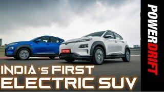 Hyundai Kona : India's First Electric SUV : PowerDrift