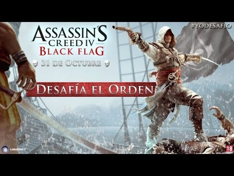 Assassin's Creed 4 Black Flag - Tráiler Bajo la Bandera Negra  [ES]
