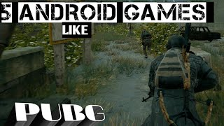 TOP 5 ANDROID GAMES LIKE PUBG UNDER 500MB