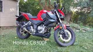 Honda CB300F Review Yoshimura