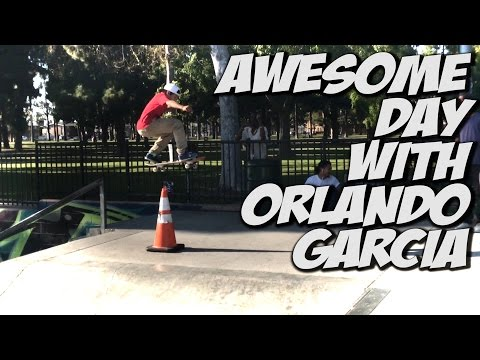 ORLANDO GARCIA V.s. NKA & MORE !!! - A DAY WITH NKA -