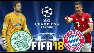 FIFA 18 Celtic vs Bayern München | Champions League Group Stage | PS4 Full Match
