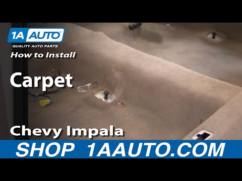 How To Install Auto Carpet PART 1 Chevy Impala 2000-05 1AAuto.com
