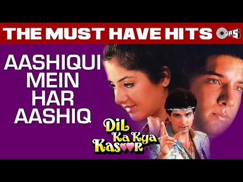 Aashiqui Mein Har Aashiq - Dil Ka Kya Kasoor | Divya Bharti & Prithvi | Sadhna Sargam video