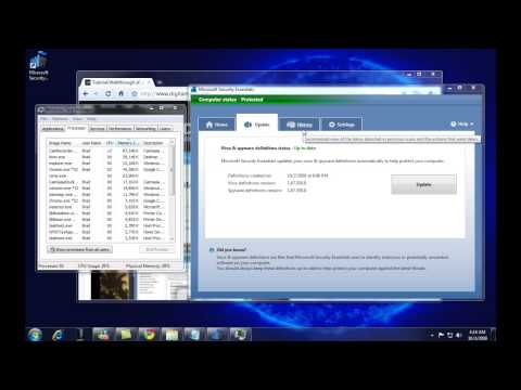 HD Microsoft Security Essentials Review