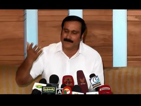 Press Meet by Anbumani Ramadoss - After Tamil Nadu Election 2016