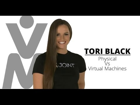 Tori Black Compares Physical And Virtual Machines video